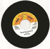 Trevor Byfield - Tell Me That You Love Me / Version (Fox Fire / DKR) US 7""